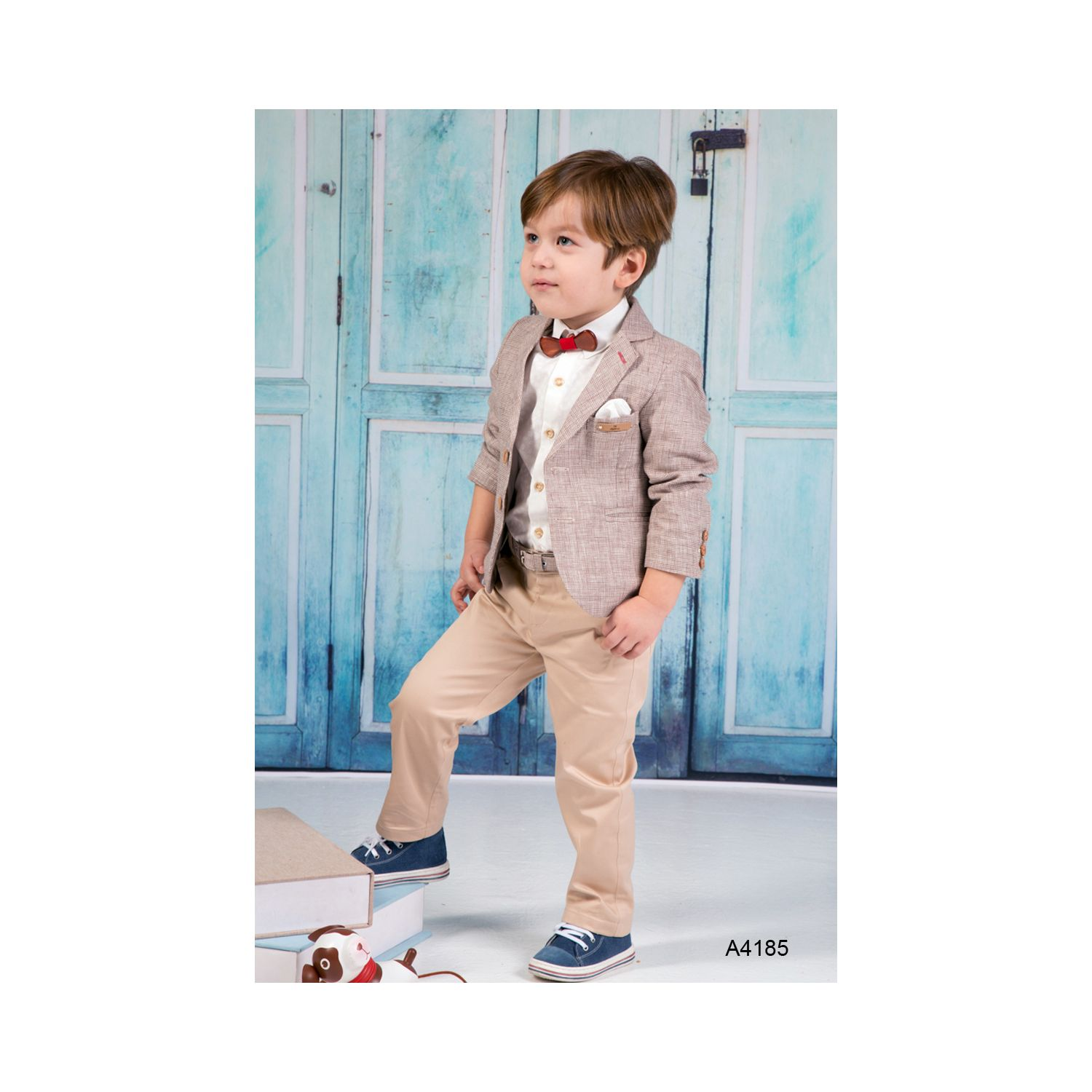Greek christening suits for boys A4185