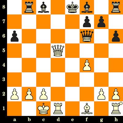 Les Blancs jouent et matent en 3 coups - J Ciprian vs Bernd Kievelitz, correspondance, 1990