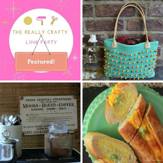 The Really Crafty Link Party #120 featured posts