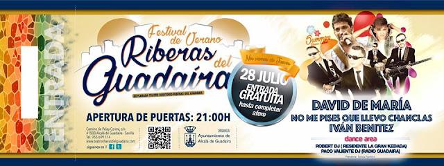 """Festival de verano """"Riberas del Guadaíra"""""""