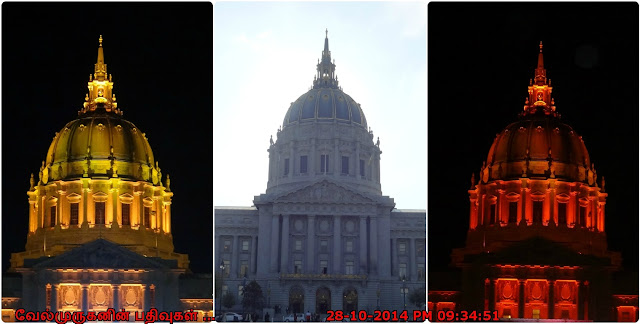 Civic Center in San Francisco California