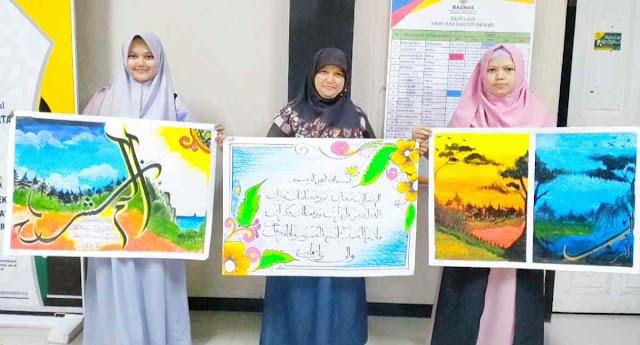 STAI Al-Muhajirin Juara 2 Kaligrafi di MTQ-36 Purwakarta