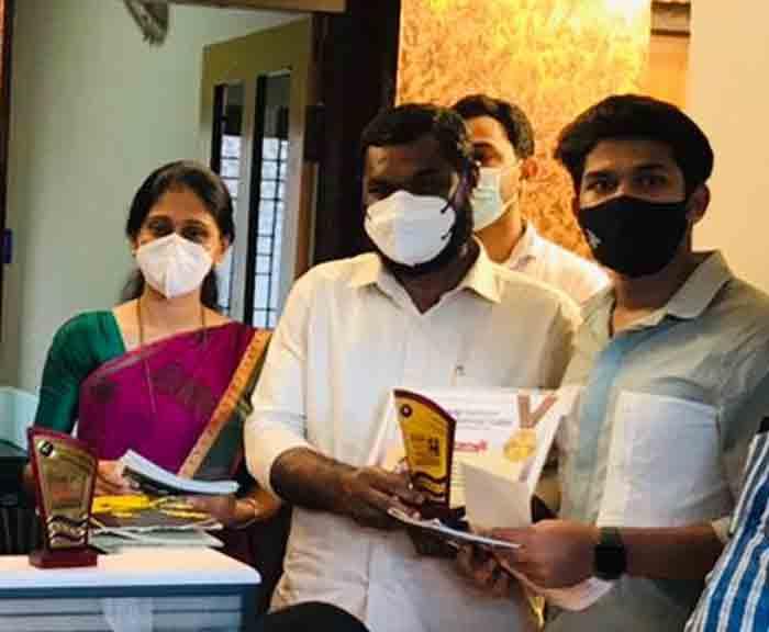 Winners appreciated by Mogral Puthur Unit of Kerala Vyapari Samithi