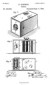 kamera George Eastman