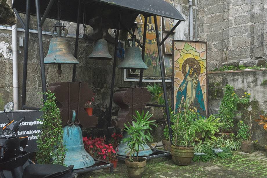 Old bells used in Pila Church in past years