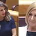 La ministra de Trabajo Yolanda Díaz deja en evidencia a la senadora del PP Salomé Pradas