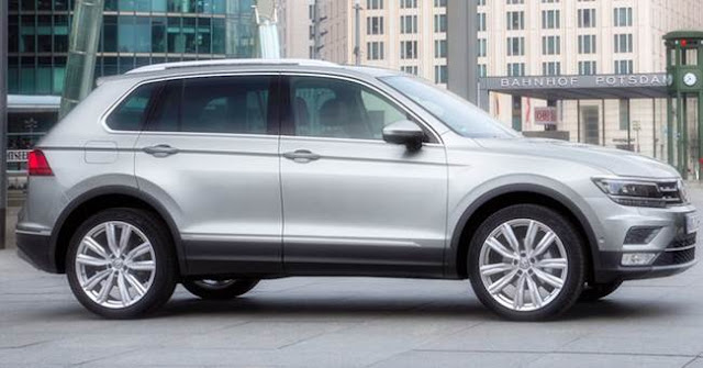 2018 VW Tiguan XL Redesign, Release Date
