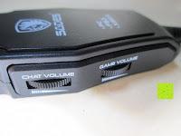 Rädchen: SADES SA922 Professionelle Surround Sound Stereo PC Gaming Headset Kopfhörer mit Mikrofon für XBOX / PS3 / PC / Handy / iPhone / iPad / Musik