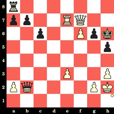 Les Blancs jouent et matent en 4 coups - Zhongyi Tan vs Turkan Mamedjarova, Tromsø, 2014