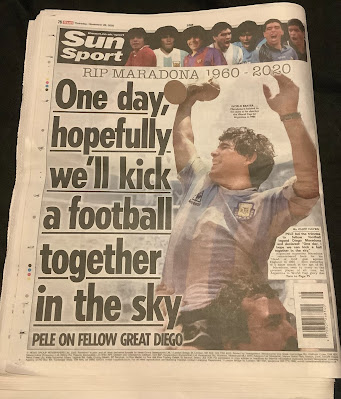 The Sun Back Page (26/11/20)