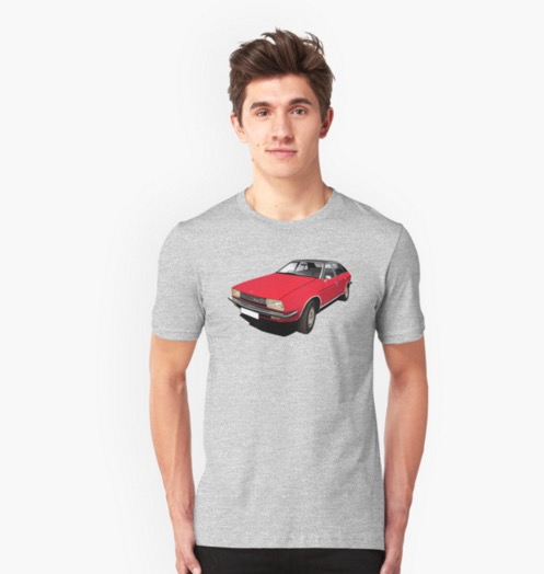 Austin Princess t-shirt red british leyland