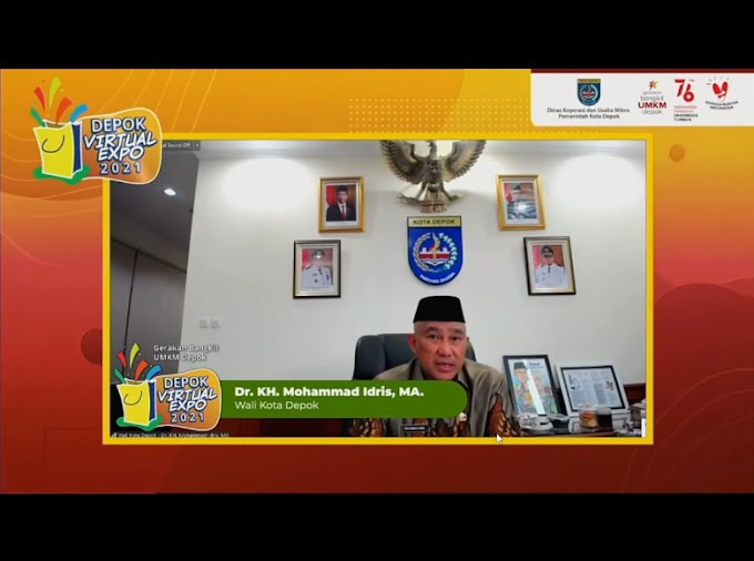 Depok Virtual Expo Dorong UMKM Pasarkan Produk Melalui Online
