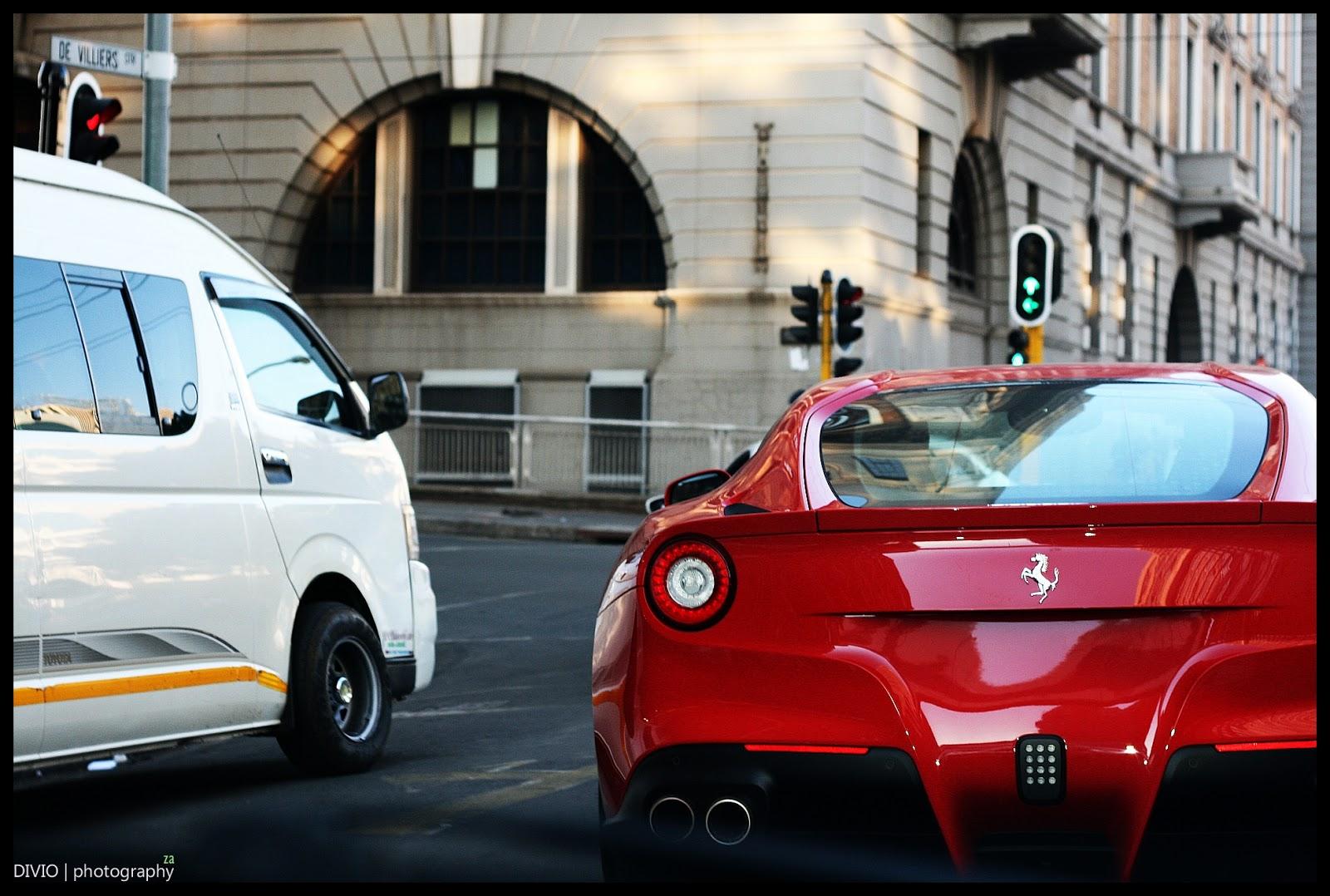 First Ferrari F12 Berlinetta Spotted in South Africa