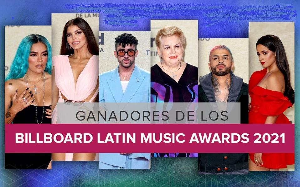 Lista de ganadores en los Premios Billboard de la Música Latina 2021