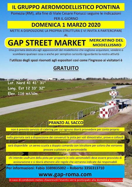 Gap Street Marchet presso il Gruppo Aeromodellistico Pontina