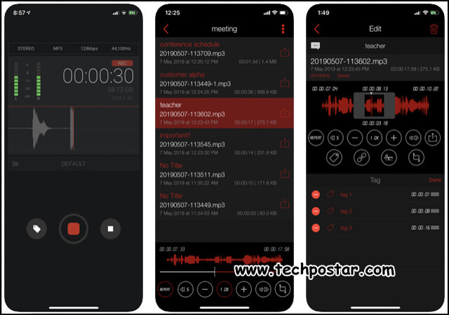 App Awesome Voice Recorder
