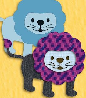 Titelgrafik unbeschriftet mit 2 Löwen