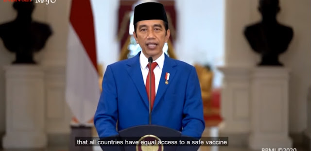 Jokowi Tuntut Kesetaraan Vaksin Covid-19 di Sidang Umum PBB, Begini Komentar Politisi PKS