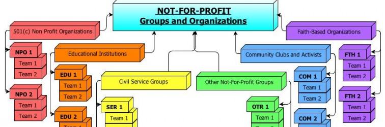 Non-Profit Organizational Chart