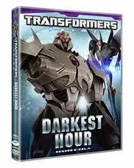 Transformers Prime Darkest Hour DVD Review