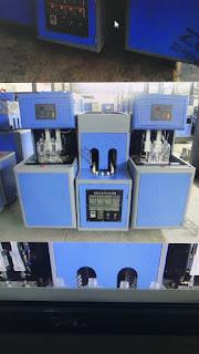 CHM-880S Semi Automatic PET/PP Bottle Blow Molding Machine