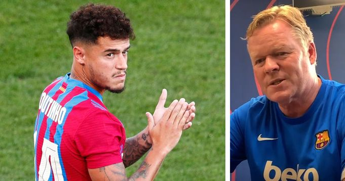 'I'm 100% convinced Coutinho has the level to succeed at Barca:  Koeman