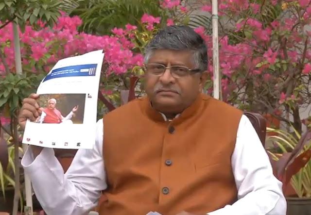 Gupkar Declaration has declared restoration of Article 370 as its agenda- Ravi Shankar Prasad