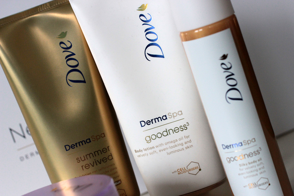Pielęgnacja :: Balsam do ciała i olejek DOVE DermaSpa Goodness3 [recenzja]