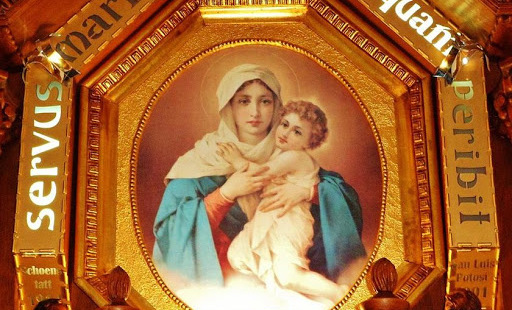 Oración a la Virgen.