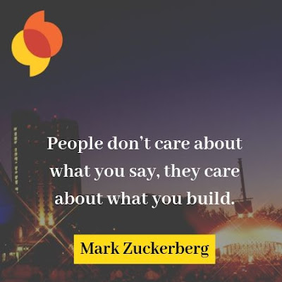 Mark Zuckerberg Motivational Quote