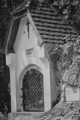 Kapelle ''Maria auf der Kette'' in Aschau - 1920-1940 - Detail