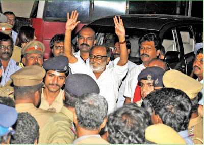 Rajinikanth at Chennai Airport Photos