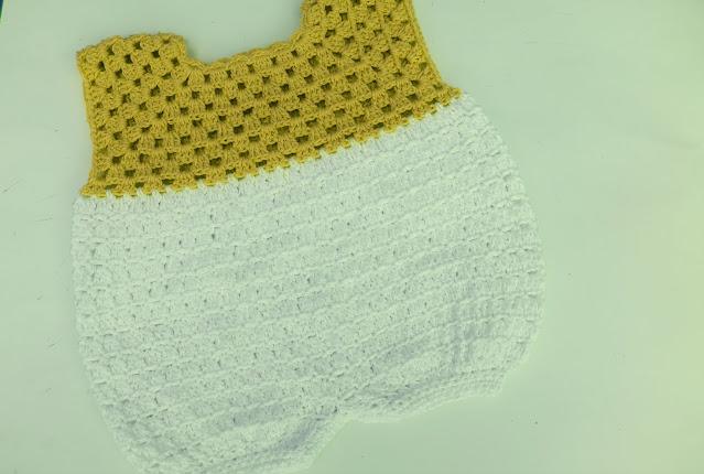5 - Crochet Imagen Pantalones para canesú vintage a crochet y ganchillo Majovel Crocher facil sencillo DIY paso a paso