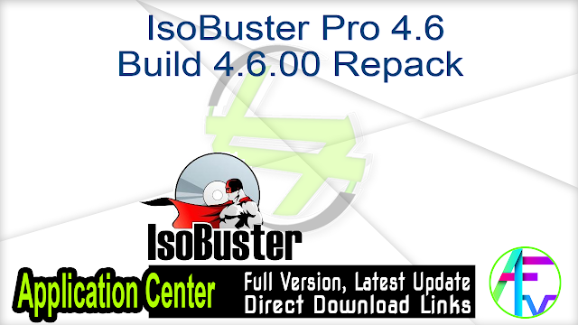 IsoBuster Pro 4.6 Build 4.6.00 Repack