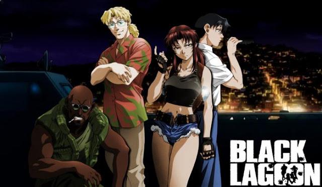 Best  Madhouse Anime list - Black Lagoon