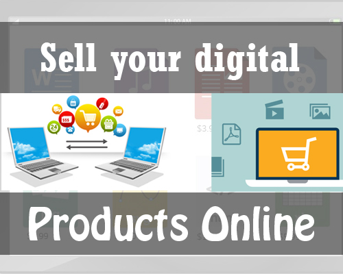 sell your digital products online