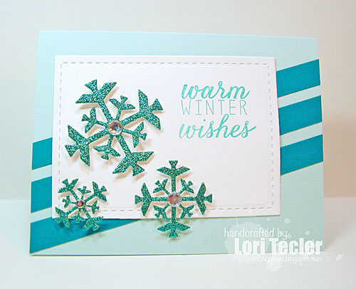 Warm Winter Wishes card-designed by Lori Tecler/Inking Aloud-stamps from Reverse Confetti