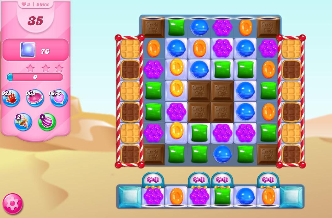 Candy Crush Saga level 8968