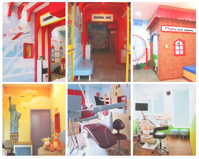 Ruangan Medikids Kemang