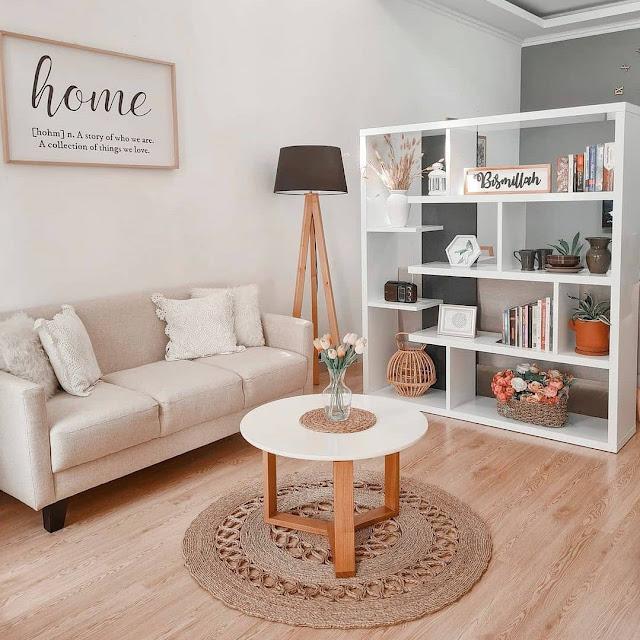 Desain Ruang Tamu Sederhana tapi Menarik Terbaru
