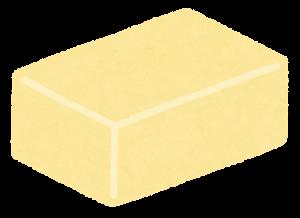 四角いチーズ・バターのイラスト4