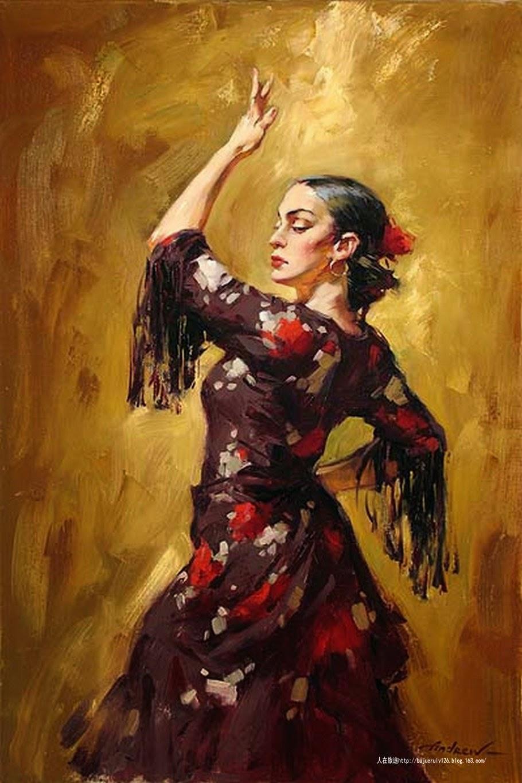 La aventura de leer d a del flamenco - Danseuse flamenco dessin ...