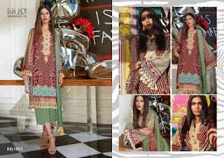 Fairlady Sana Safinaz Hit Design Colour Pakistani Suits