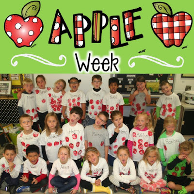 Apple Week...Not sure how we got it all in! - First Grade Roars!