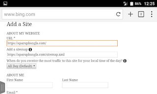 বিং ওয়েবমাস্টার টুলে ওয়েবসাইট কিভাবে সাবমিট করে| How to Submit Website Bing Webmaster tools