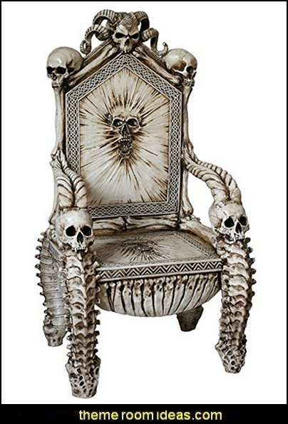 Skull Throne Chair