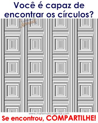 Ilusão de ótica: Quantos círculos tem na imagem?