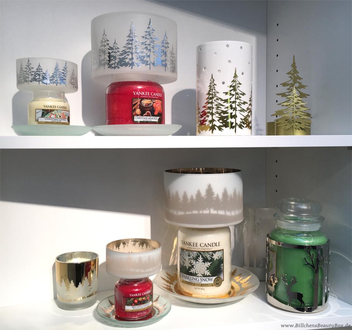 Yankee Candle - Alle Kollektionen und Duftbeschreibungen für 2018 - Winter- Weihnachtskollektion Holiday Sparkle - Accessoires
