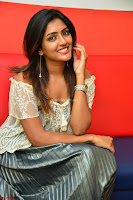 Eesha in a cute deep neck top and Skirt at at Big FM 041.JPG