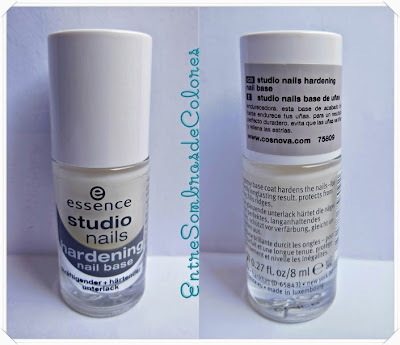 base uñas hardening Essence